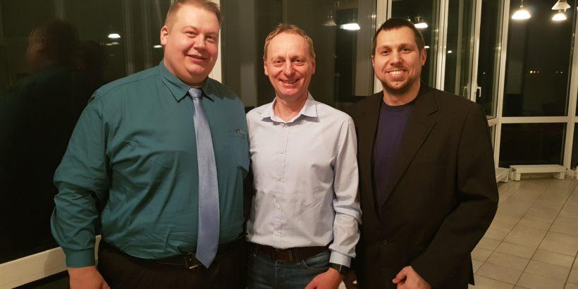 Thomas Kiehne, Mario Rudolf, und Ronny Schneider (v.l.n.r.)
